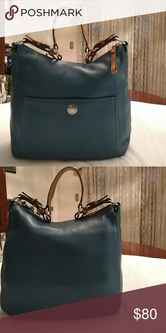 a663f90cbe5f Coach bag Teal Blue