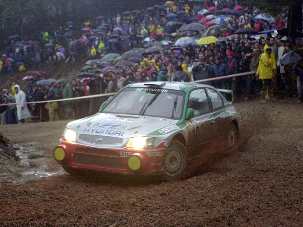 Hyundai Accent Wrc Rally Car Cooliosity Pinterest Hyundai