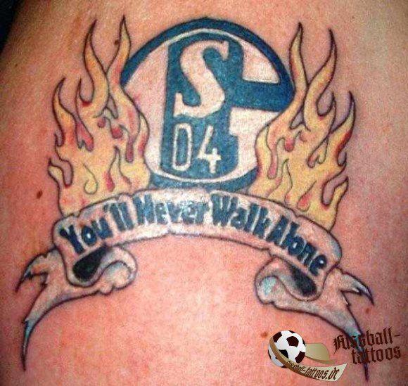 schalke 04 fan tattoo  httpswwwfacebook
