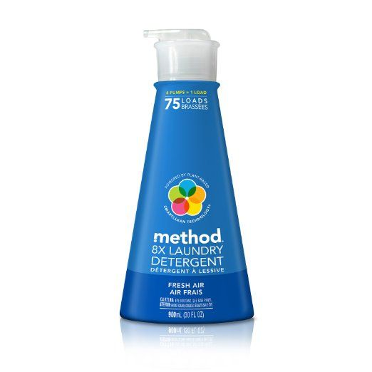 Amazon Com Method 8x Concentrated Laundry Detergent Free And