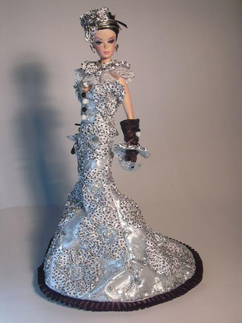 Barbie Girlie Show Artist Creations Italian O.O.A.K. Fashion Dolls by Alessandro Gatti e Giuseppe De Bellis