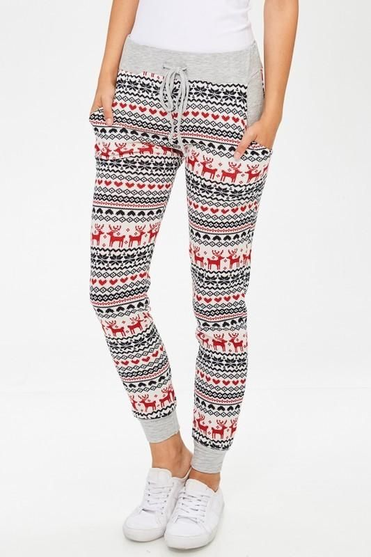 b5caa5d6e Holiday Print Jogger Pants | Products | Christmas pajamas, Sport ...
