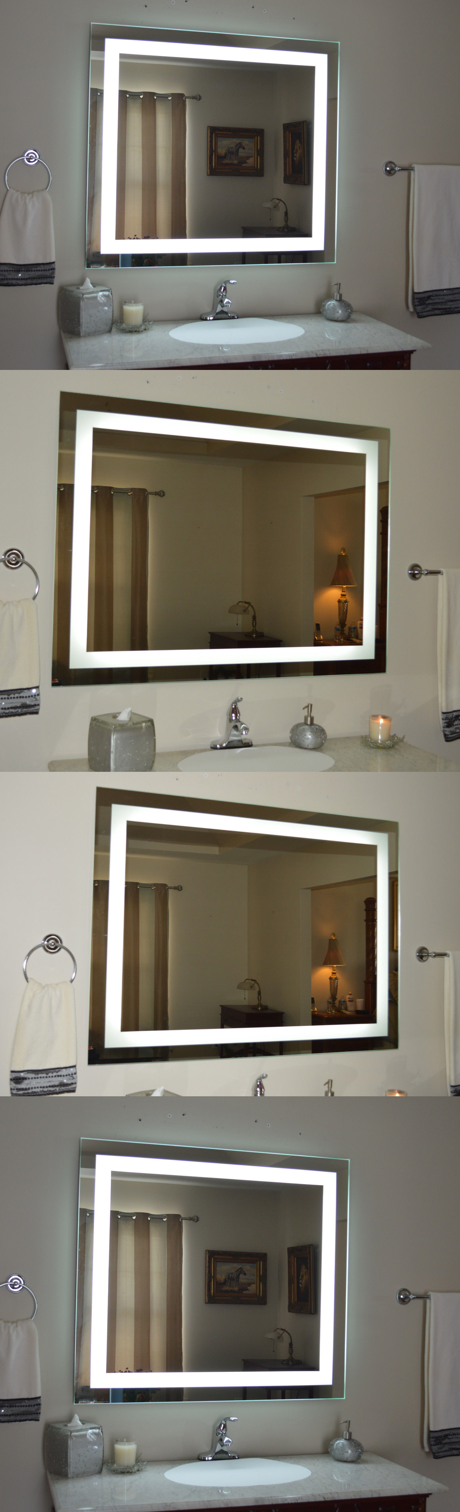 Photography Gallery Sites Mirrors Lighted Bathroom Vanity Mirror Led Wall Mounted Wide X