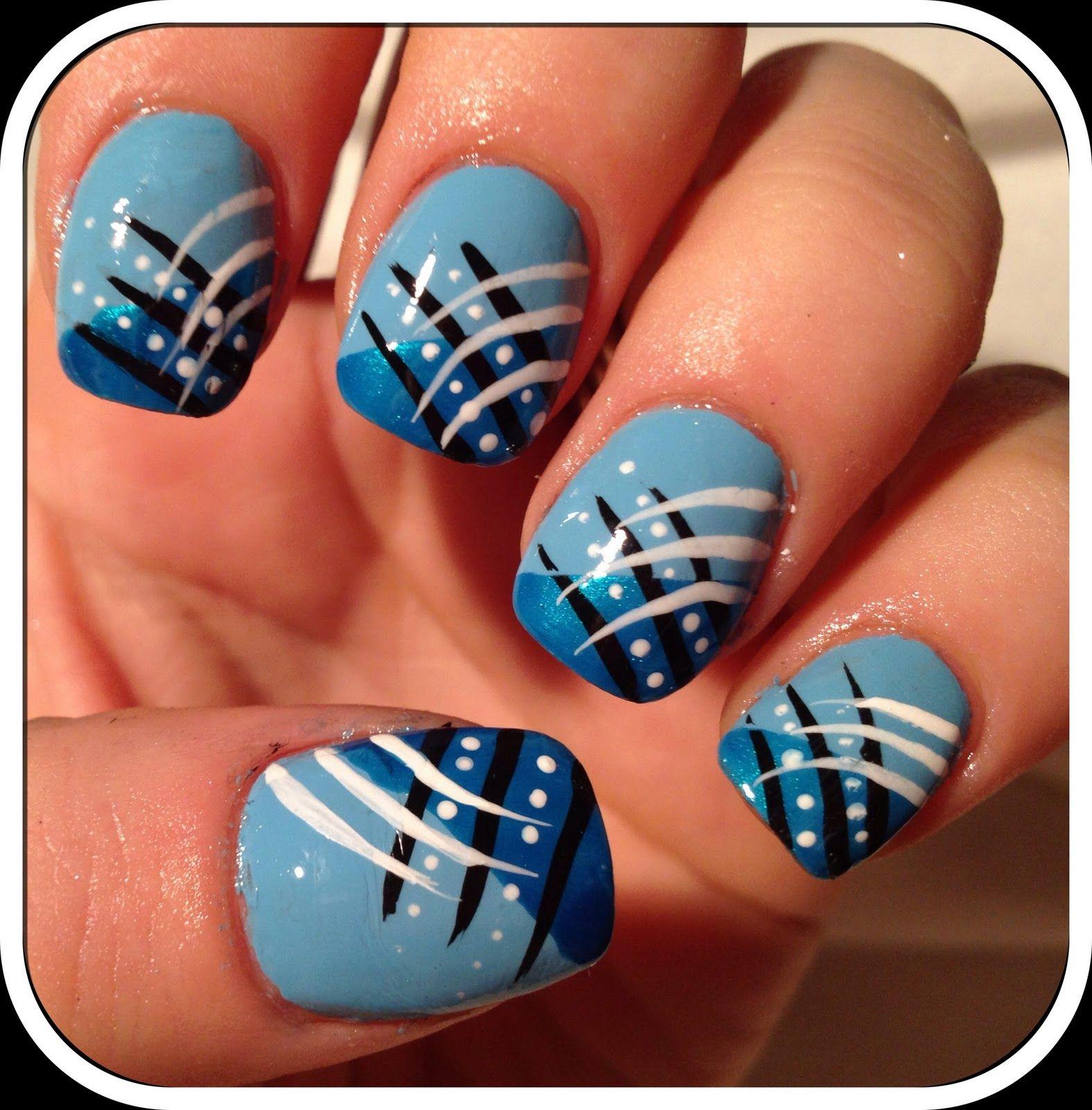 nail art | #NAILS <3 | Pinterest | White nail art, Nail art pen and ...