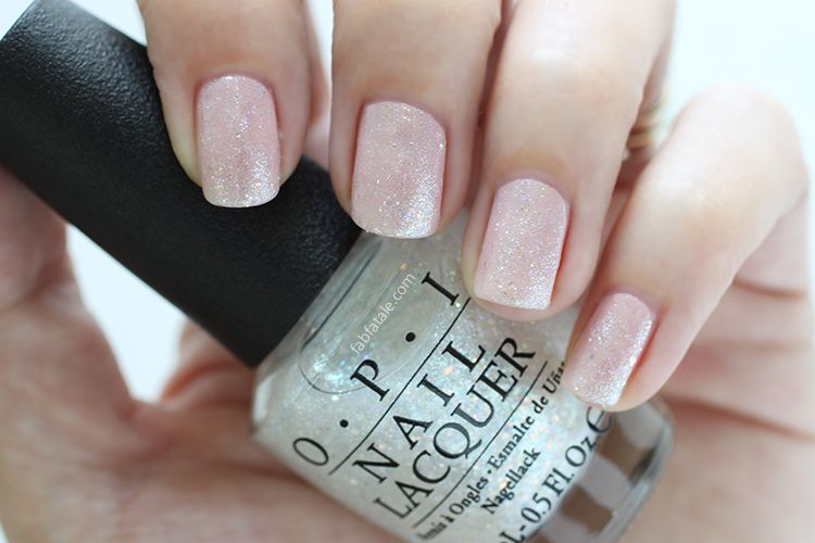 Manicure Mondays - OPI Soft Shades Collection Giveaway   Glitter top ...