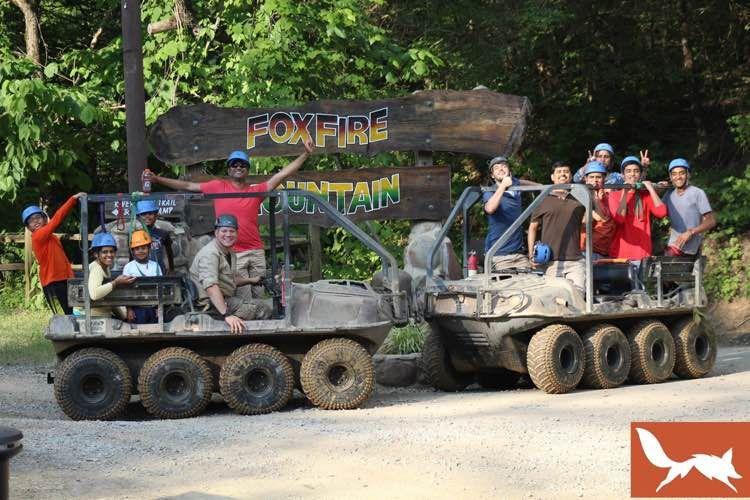 Bear crawler extreme 8wheel offroad atv tour at foxfire