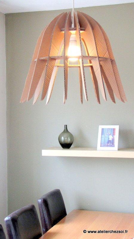 sfr mail lustre de carton design en. Black Bedroom Furniture Sets. Home Design Ideas
