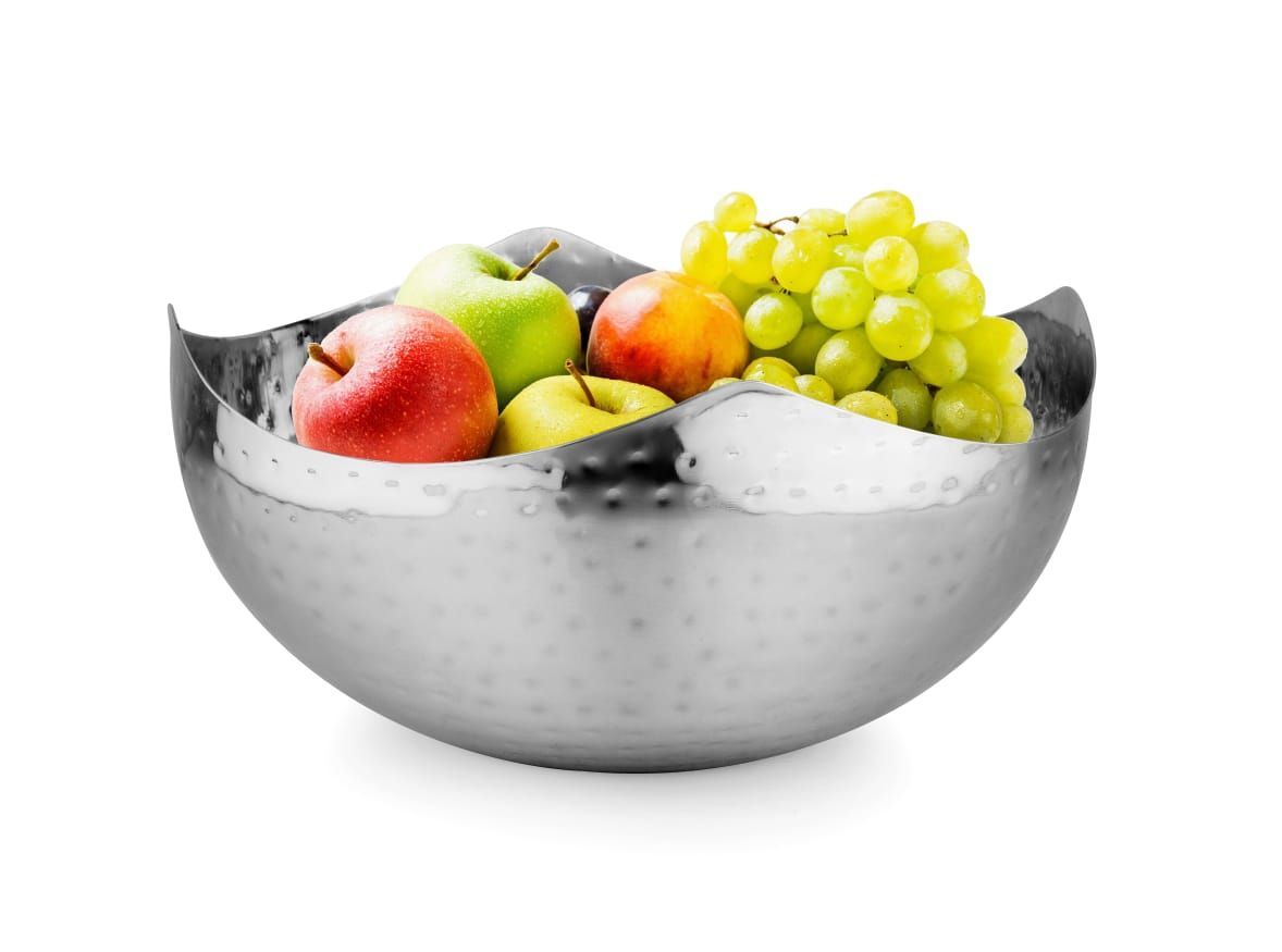 This Elegant Hammered Wave Bowl Looks Beautiful In So Many