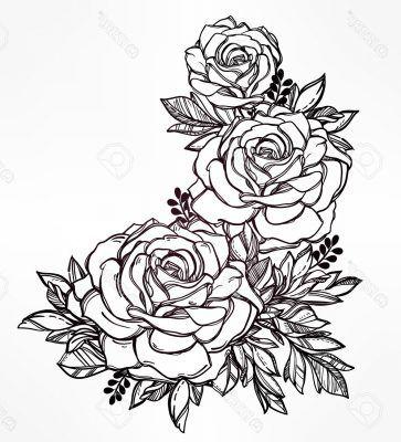 Dibujos Para Colorear De Rosas Bonitas Tatto Pinterest Rosas