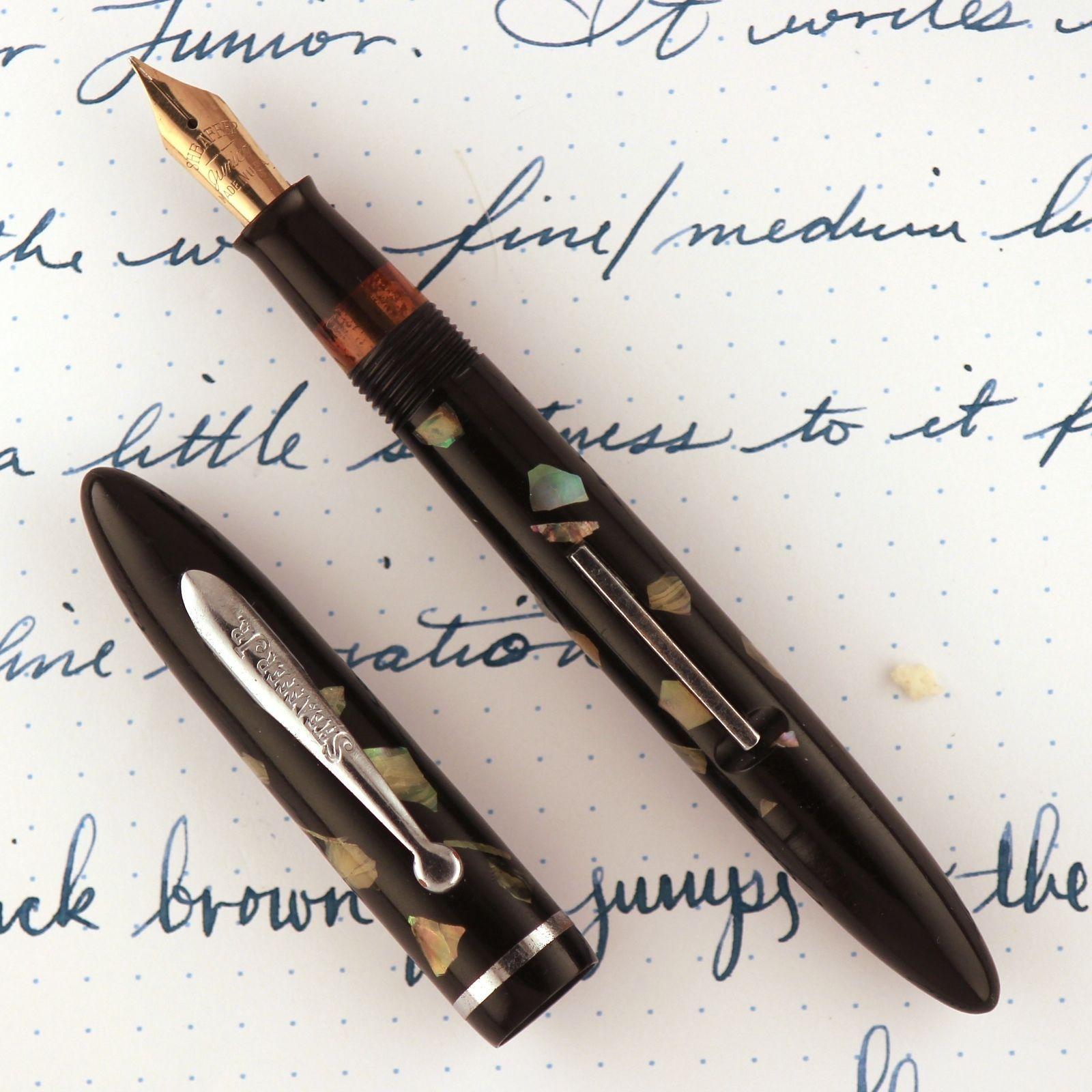 Sheaffer Balance Junior Fountain Pen Ca 14k Restored
