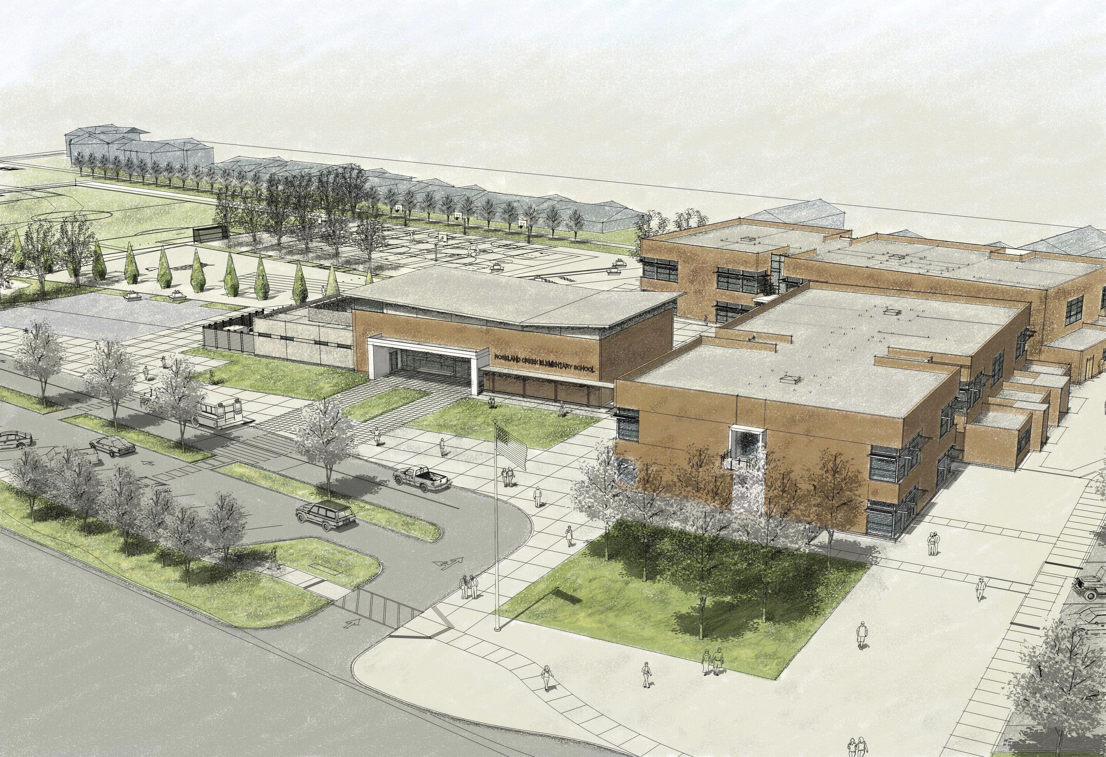 Elementary School Building Design Plans Roseland Creek Elementary School Bids Tlcd Today