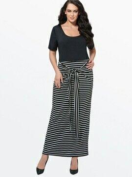 Pin von Derya auf plus size & curvy | Maxi kleider, Kleid ...