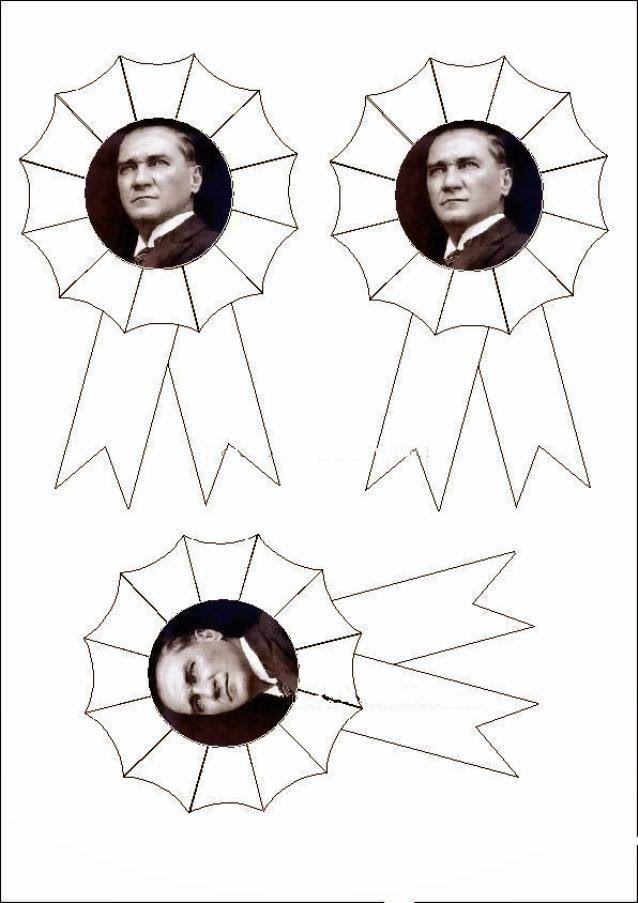 Ataturk 10 Kasim Yaka Resmi Jpg 638 903 Okul Oncesi Boyama