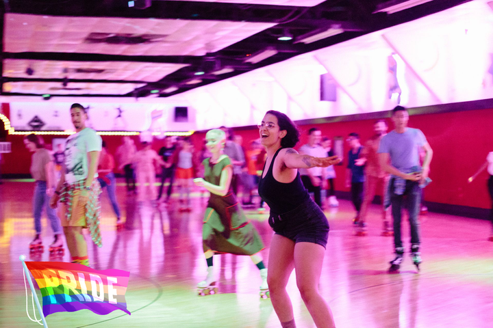 'Sexy Church': Skating is religion at this vintage rollerway's LGBTQ night #onlineclasses