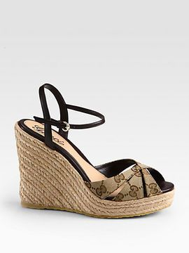 cafe79dbefb Gucci Espadrille Wedges | Accessories+Shoes+Handbags For Women ...