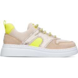 Photo of Camper Runner up, kids sneaker, beige / yellow / gray, size 31 (eu), K800338-002 camper