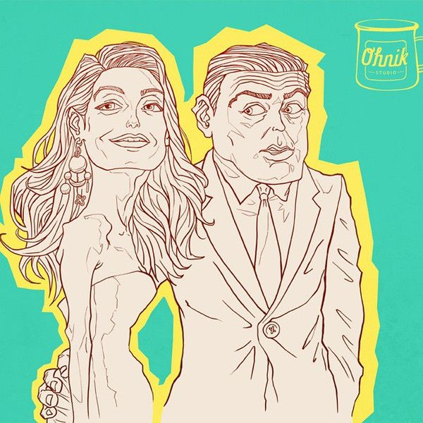 One Of Our Favourite Celebrity Couples: George And Amal
