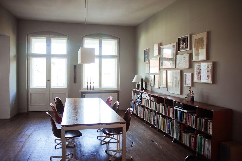 Wohntrends Apartment und Atelier, Olaf Hajek Berlin mitte - esszimmer berlin