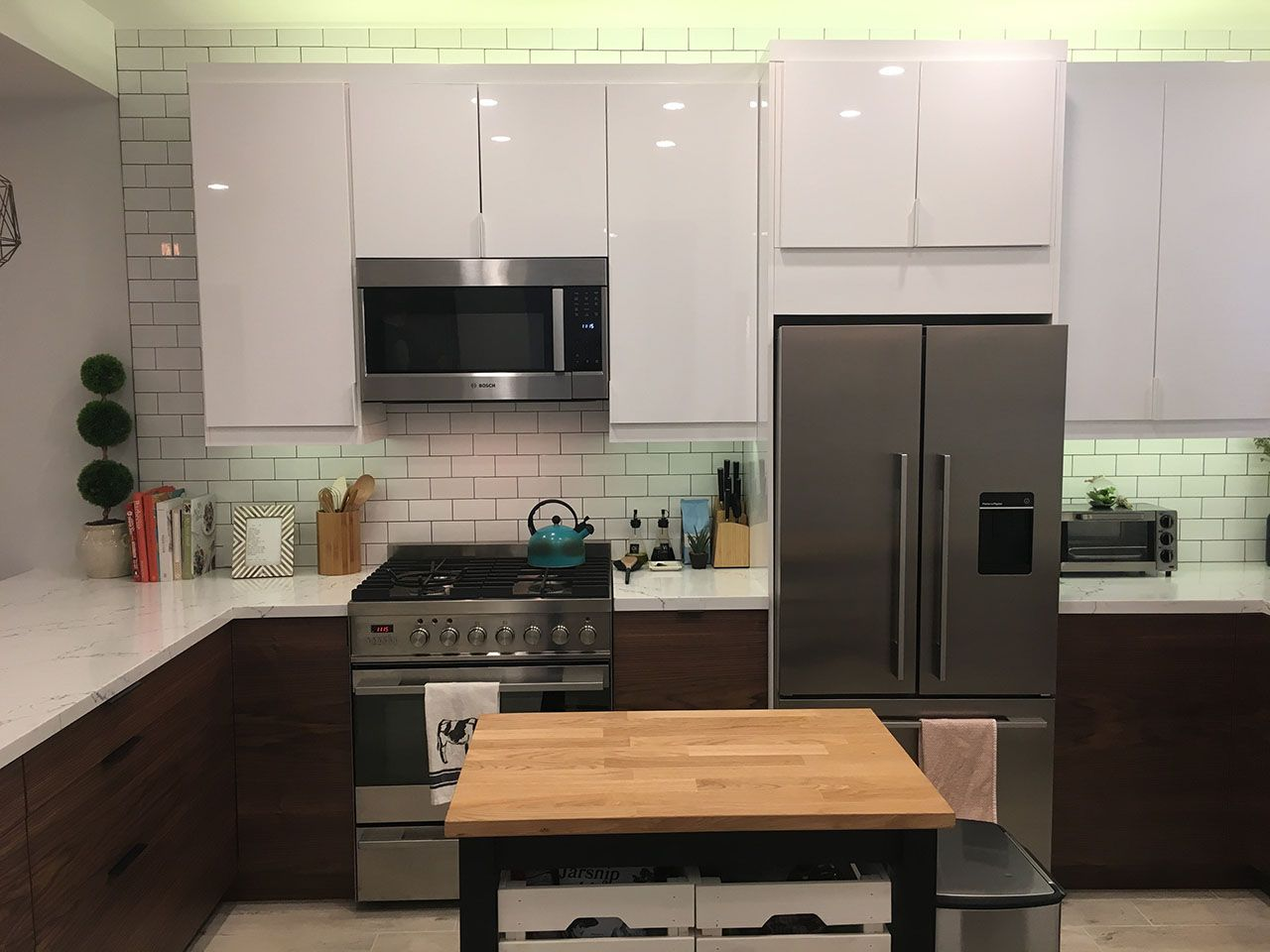 Best A Mid Century Modern Ikea Kitchen Makeover Our 400 x 300