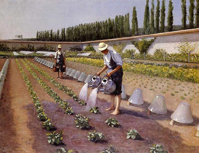 Paintings Reproductions Caillebotte, Gustave The Gardeners, 1875-1877