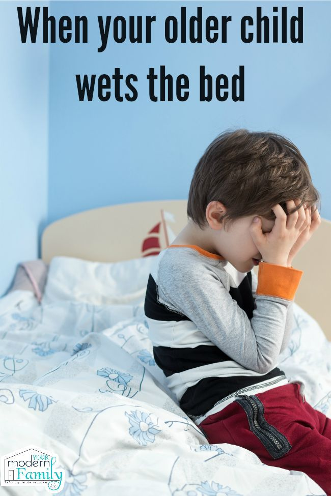 When Your Older Child Wets The Bed Bed Wetting Bedwetting Kids
