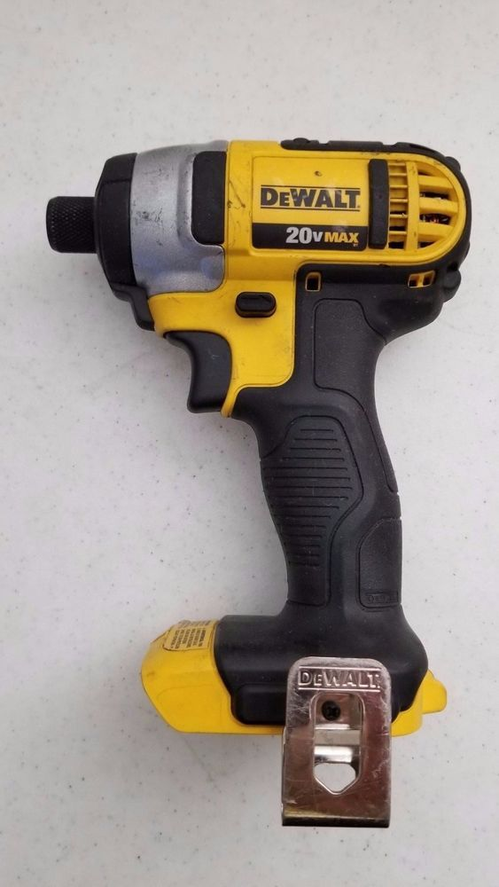 49 95 Used Dewalt Dcf858 1 4 Impact Driver 20v Bare Tool Dewalt Impact Driver Dewalt Auction Finds