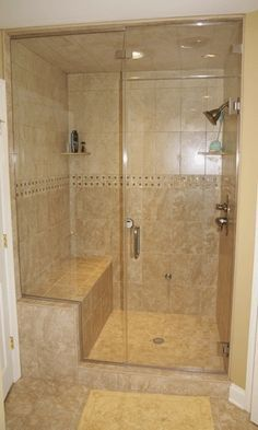 Stand Up Shower Downstairs Bathroom Bench Shower Ideas For