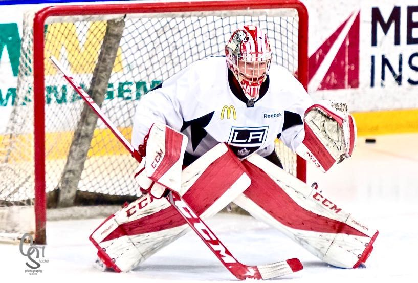 La Kings 2017 3rd Round Draft Pick G Matthew Villalta I Was Expecting To Be A Later Round Pick La Kings La Kings Hockey Los Angeles Kings