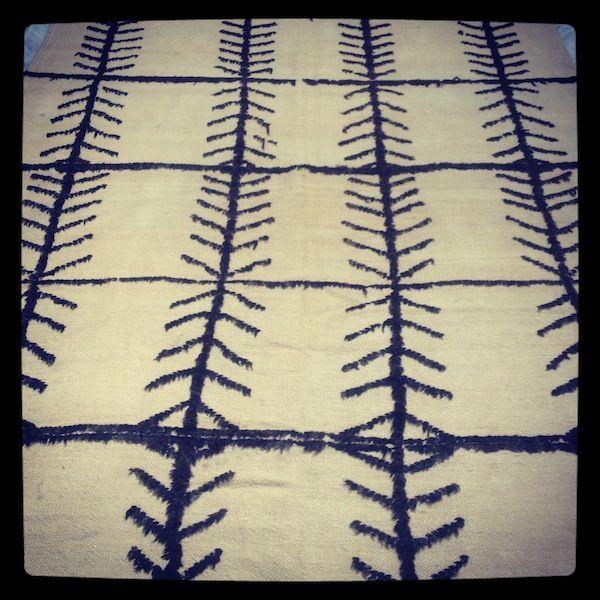 Vintage Beni Ouarain Blanket www.kulchi.com