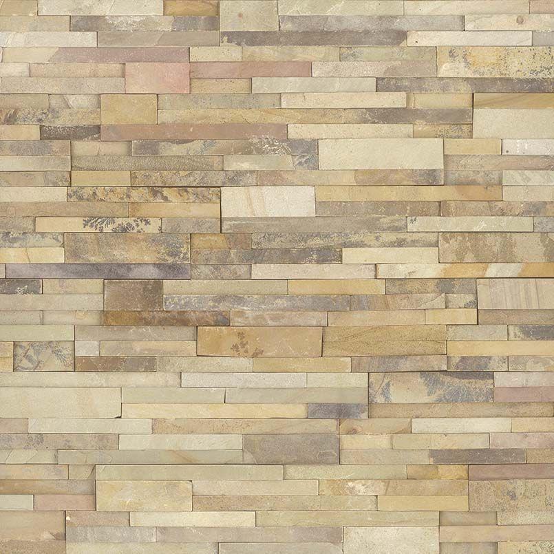 Msi Natural Stone Ledger Panel 6 X 24 Sedona Fossil 8 Sf