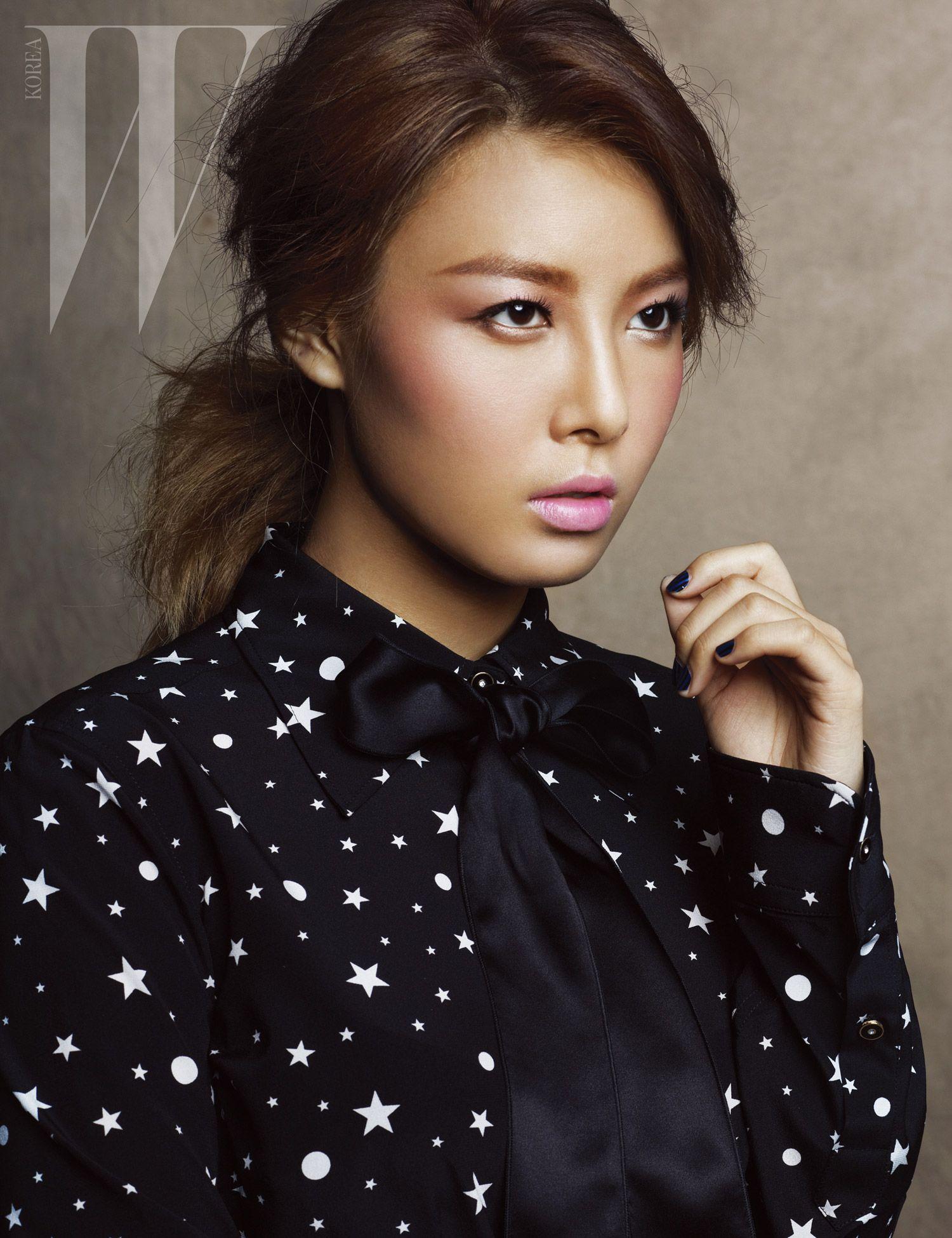 Wonder Girls Yubin for W Magazine Korea (With images