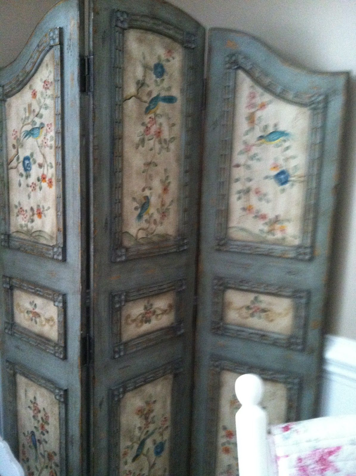 Paravent Cheminée Fancy A Lightly Distressed Dressing Screen Used In My