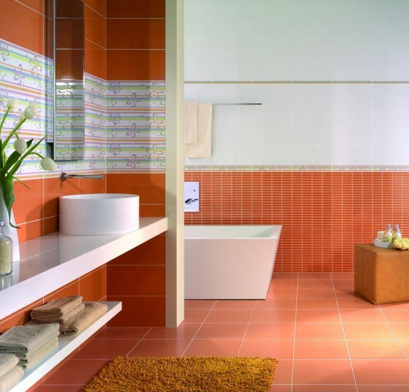 Carrelage salle de bain Design serie Sueno en 20*40 cm, avec Réflex