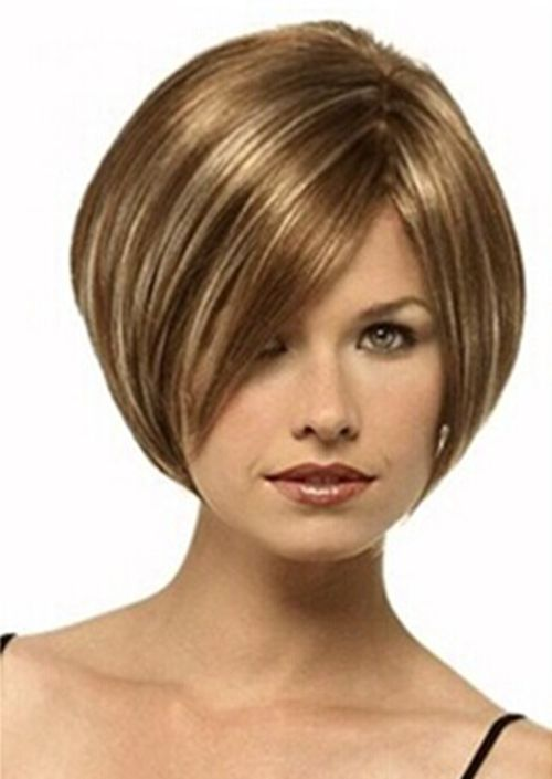 New Fashion Natural Hair Wigs Women S Mixed Blonde Short Hair In