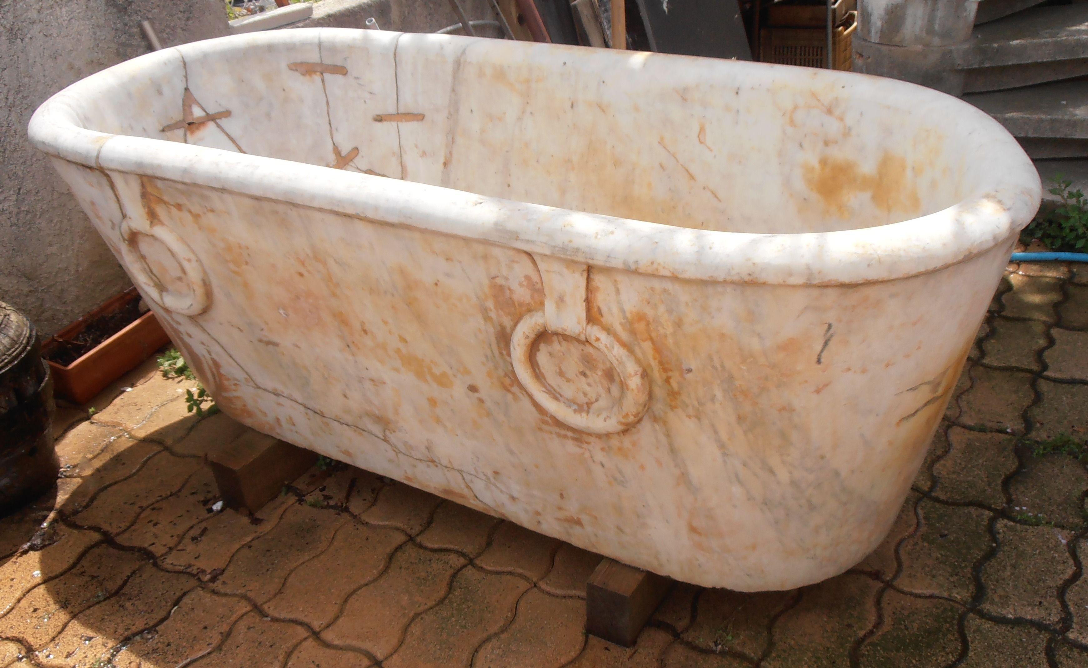 baignoire marbre ancienne - recherche google | orangeries, écuries