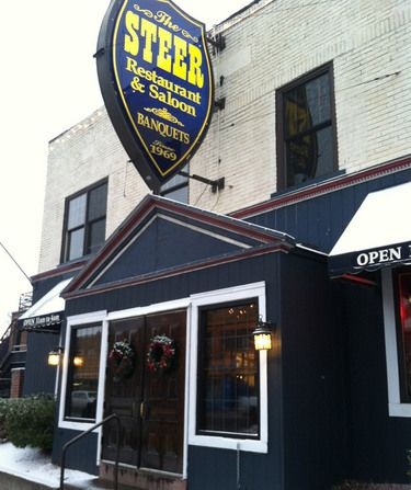 Have You Been To The Steer Lately Buffalo New York Main Street Hometown