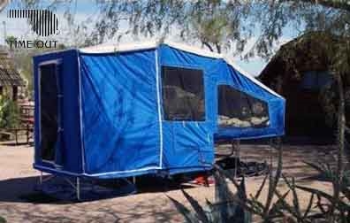 Motorcycle Camper Trailer Time Out Deluxe Camper & Add