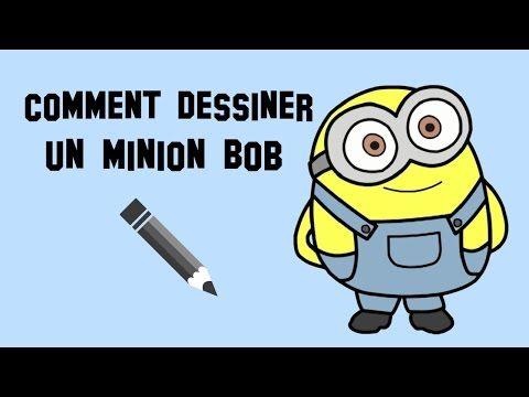 Comment dessiner un minion bob facilement youtube dessin pinterest comment dessiner - Comment dessiner un diable facilement ...