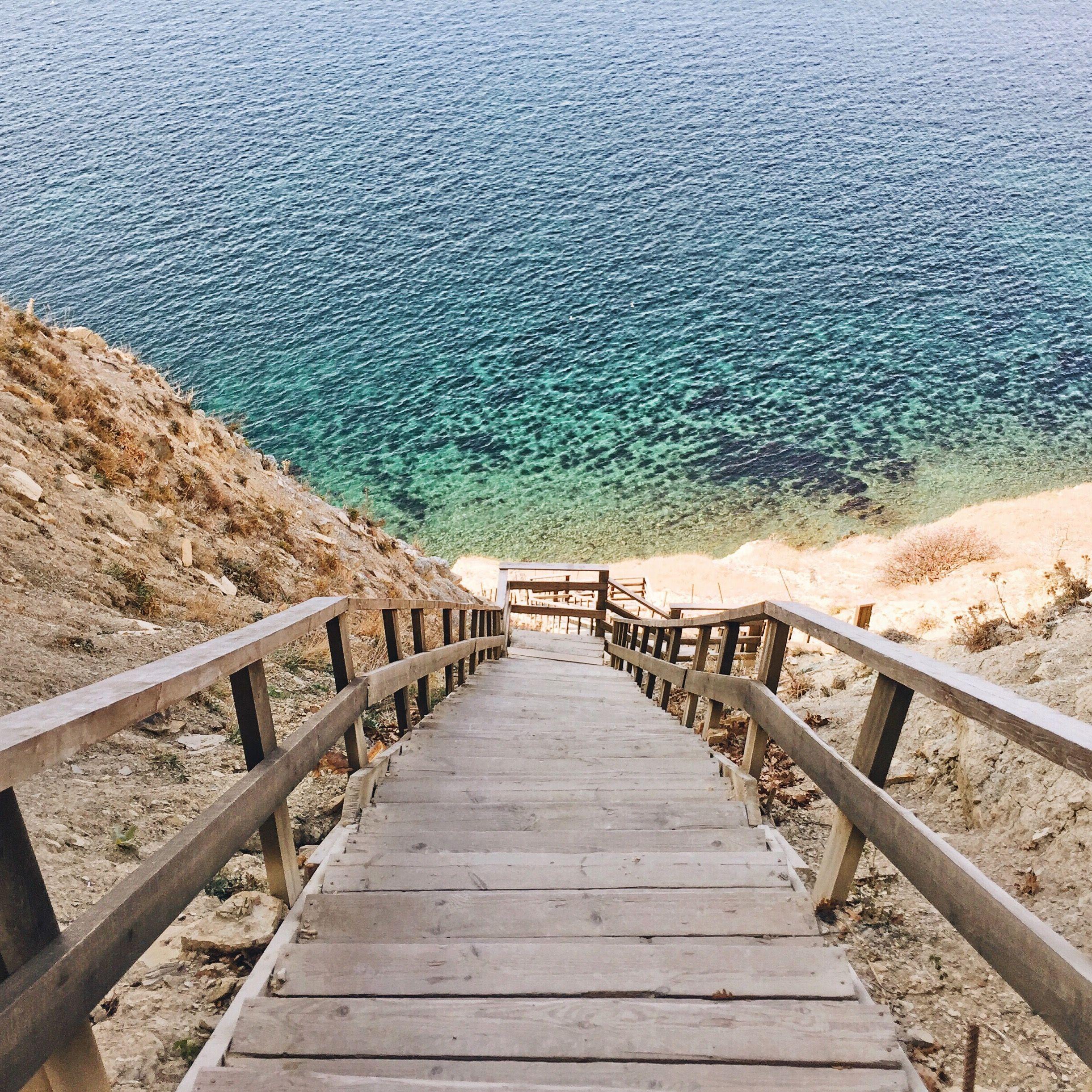 картинки лестницы к морю кляр
