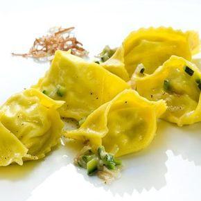 Heinz Beck's Fagottelli Carbonara Rezepte, Lebensmittel