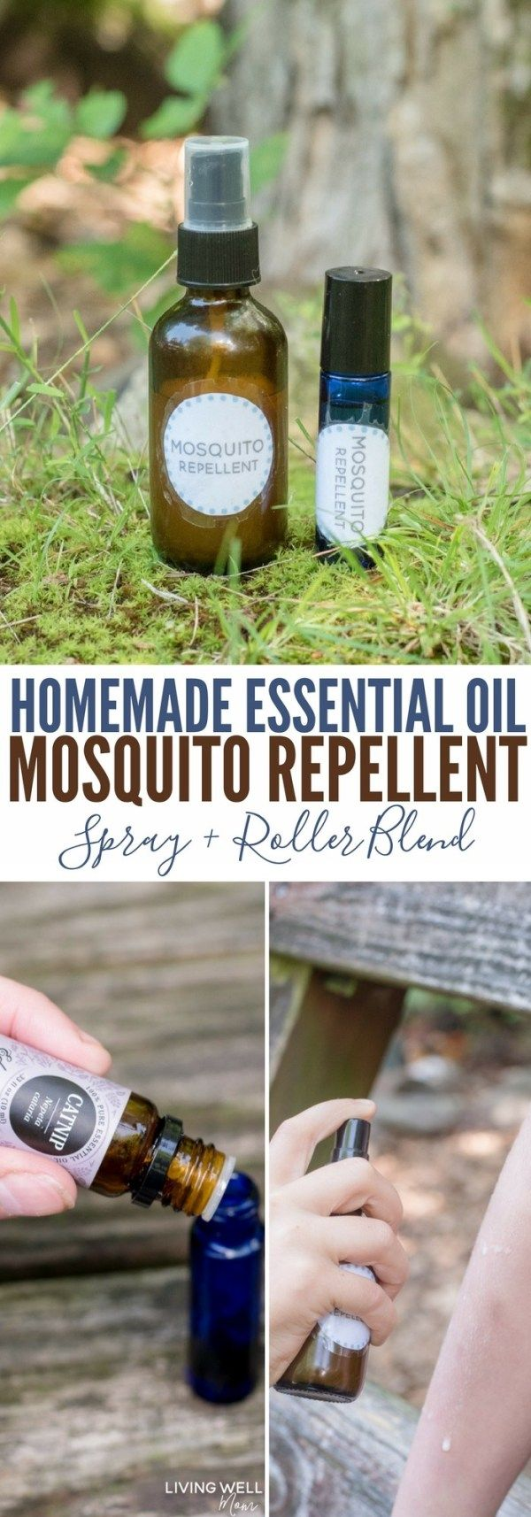 Homemade Mosquito Repellent Spray with Essential Oils