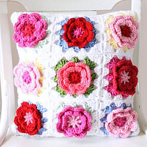 Rosie Pillow Cover - Cottage Industry Shop