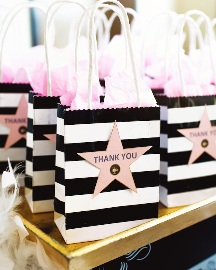 Glam Hollywood Birthday Party Awesome Ideas