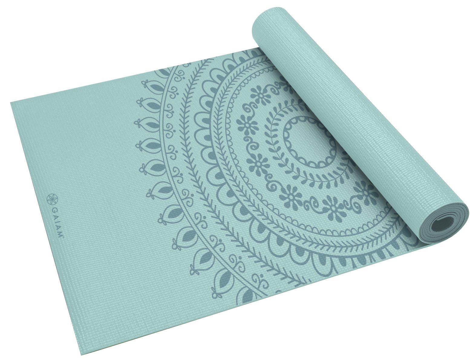 Amazon Com Gaiam Marrakesh Print Premium Yoga Mat 5mm Sports Outdoors Gaiam Yoga Mat Print Yoga Mat Yoga Mats Best
