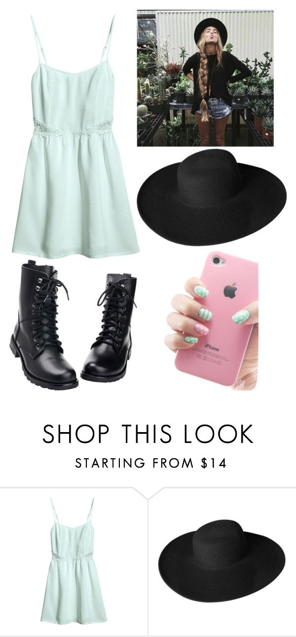 """been there"" by maddysleepy ❤ liked on Polyvore featuring H&M and Dorfman Pacific"