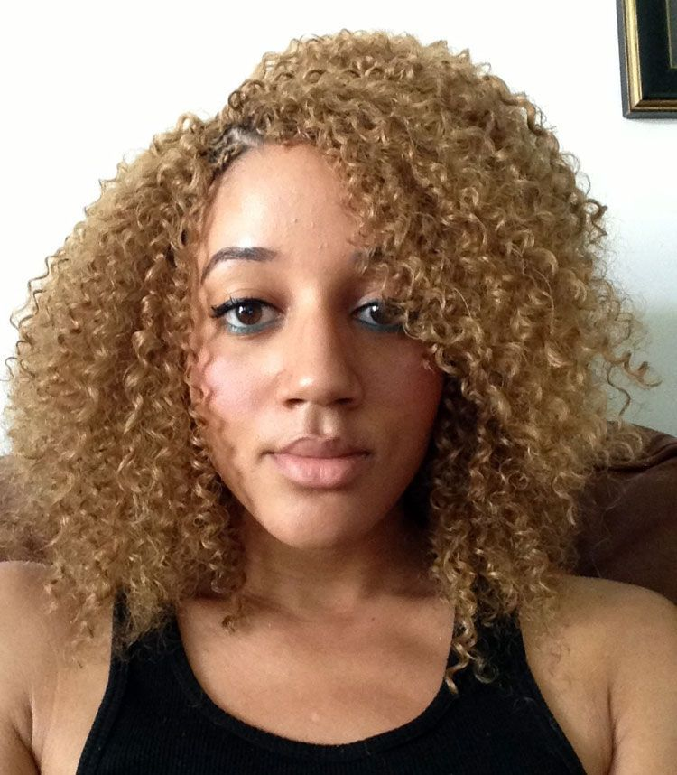 blonde-crochet-braids-light-skin # blonde Braids on lightskin