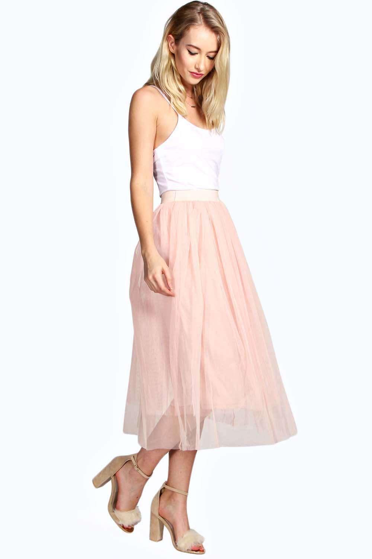 Boutique Anita Midi Length Full Net Tutu Skirt alternative image ...