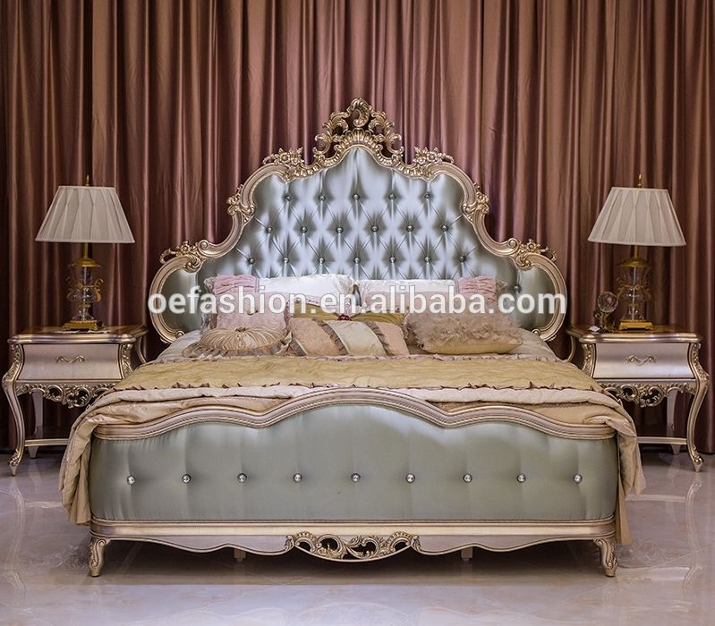 Luxury King Size Solid Wood Double Bed