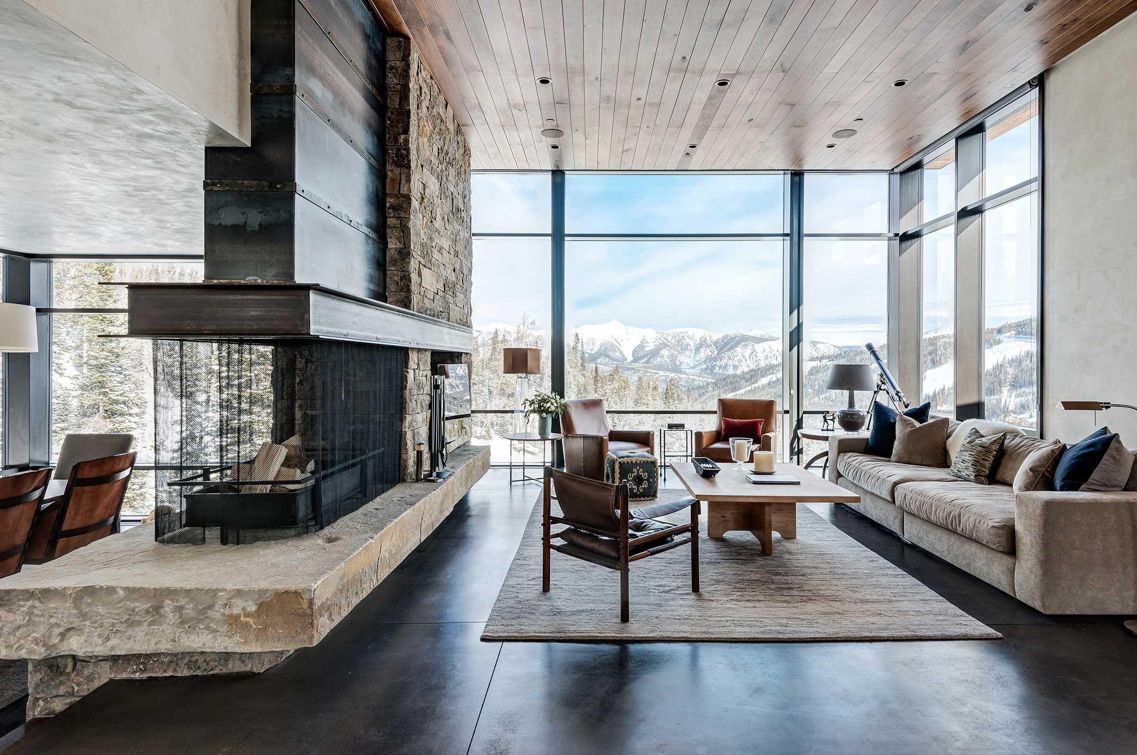 architectural studio pearson design group designed the mountain