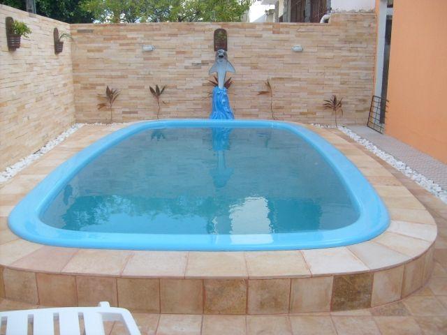 Resultado de imagem para piscina de fibra para quintal - Piscinas de fibra ...